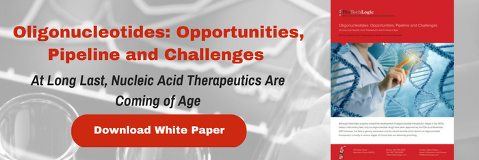Oligonucleotides: Opportunities, Pipeline and Challenges At Long Last, Nucleic Acid Therapeutics Are Coming of Age