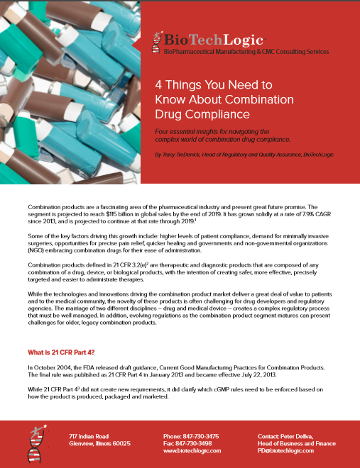 White Paper: 4 Things You Need to Know About Combination Drug Compliance