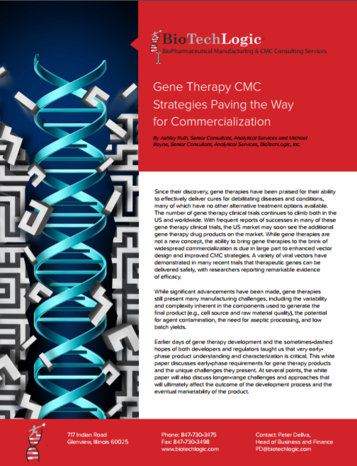 eBook: Key Considerations in Gene Therapy Manufacturing for Commercialization